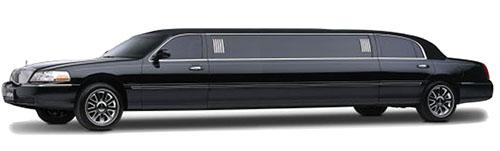 blue line 10 passenger limo