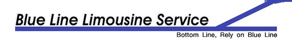 blue line limo logo